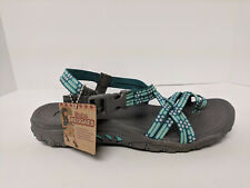 Skechers Cali Reggae Loopy Toe Ring Sandal, Mint, Womens 8 M