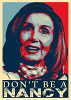 Don't Be A Nancy Pelosi Funny Political Sticker Decal Made IN USA
