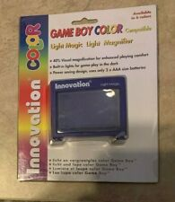 "Game Boy Color System Light + Magnifier 40% NEW in box Purple ""Grape"""