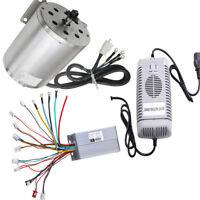 48V 1800W Brushless Motor Speed Controller Battery Charger for ATV Quad Gokart