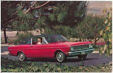 1968 Ford Falcon Futura Sports Coupe Automobile Advertising Postcard