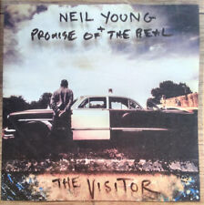 NEIL YOUNG + PROMISE OF THE REAL The Visitor 2 x Vinyl LP ETCHED NEW & SEALED