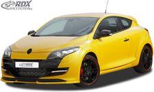 RDX Spoilerlippe für Renault Megane 3 III RS Sport Racing Ansatz Schwert Front