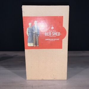 Red Shed Tractor Supply American Gothic Statuette Premium Quality With Box