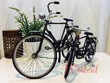 Retro Miniature Vintage Hand Made Bicycles, His Large