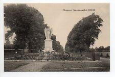 DIEUZE DUSS Moselle CPA 57 le monument commémoratif