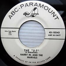 HARRY M & MARVELS the U-T What's the use NORTHERN SOUL R&B promo 45 MG953