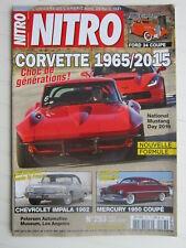 NITRO N° 283 /Corvette 1965-2015 / CHEVROLET IMPALA 1962 / MERCURY 1950 Coupé