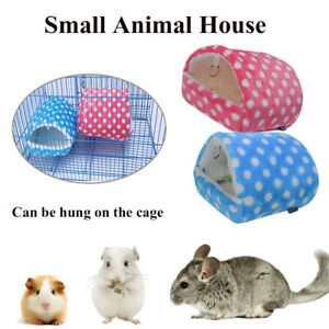 Cage Mini Nest Hamster Sleeping Bed Small Animal House Warm Pad Guinea Pig Mat