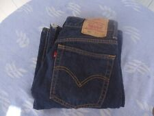vintage levi denim jeans 520 W 32 L 33 button fly boot flares made in Australia
