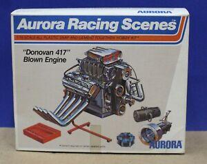 Aurora Racing Scenes 843 Donovan 417 Blown Engine Kit  1:16 1974 Nicely Started