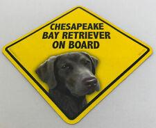 Chesapeake Bay Retriever Dog On Board Magnet Laminated Car Pet Magnet New 6x6