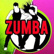 ZUMBA DANCE WORKOUT DVD BURN CALORIES FITNESS EXERCISE WEIGHT LOSS