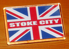 Stoke City UNION JACK FLAG FOOTBALL Frigo Calamita