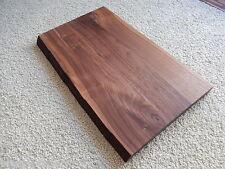 Tischplatte Platte Nussbaum Massiv Holz mit Baumkante NEU Tisch Brett Leimholz !