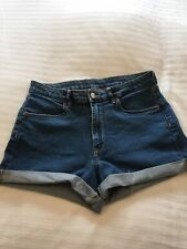 Ladies H&M Denim Shorts Size 12