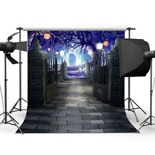 Halloween Vinyl Backdrop Photography Prop Studio Photo Background 5x7ft