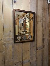 More details for cobra mirror vintage pub bar advertising man cave  collectable