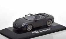 1:43 Minichamps Porsche 911 (992) Carrera 4 Convertible black