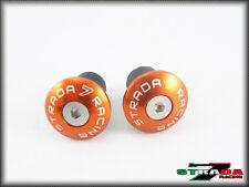 Suzuki GSXR750 GSXR600 GSXR1000 Strada 7 Racing CNC Orange Lenkstangen Endstücke