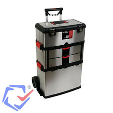 Carro de herramientas de acero inoxidable Caja Organizador Carril almacenamiento