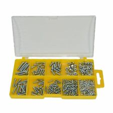 275pc Assorted Metric Machine Screws And Nuts M3 - M5 With Phillips Head