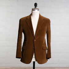 ETRO Corduroy Sport Coat Size 40 / 50 Rust Brown Cotton