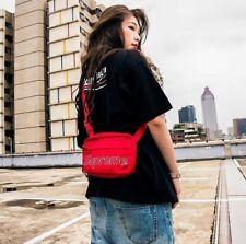 Supreme Shoulder Bag Red Unisex 100% Authentic FW18 Winter 2018 Bag Travel