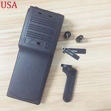 Black Replacement Kit front case Housing for motorola HT1000 Portable radios
