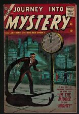 MARVEL ATLAS Comics 4.5 VG+ Journey into mystery 46 1957 middle of the night