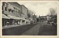Stafford Springs CT Main St. c1920 Postcard