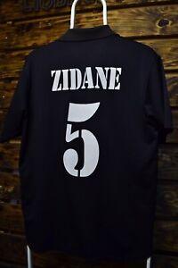 Fc Real Madrid Zidane Jersey #5 2002 Jersey Adidas Shirt