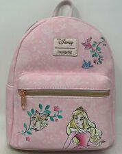 Loungefly Disney Princess Sleeping Beauty Aurora Pink Backpack Bag no snow white