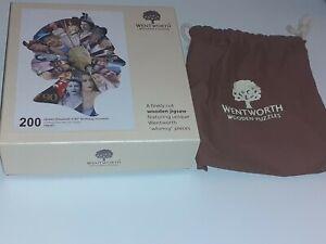 Wentworth Jigsaw 200 Pieces Queen Elizabeth 11, 90th Birthday Souvenir,Complete.