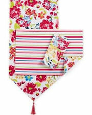 "Homewear Summertime Floral Table Collection 14"" x 90"" Table Runner"