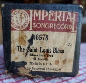 Saint Louis Blues Imperial 88 note Player piano Roll