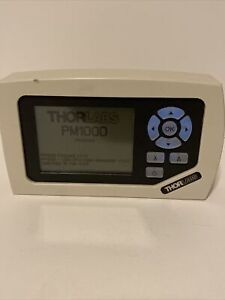 Thorlabs PM100D Digital Optical Power & Energy Meter + , Battery