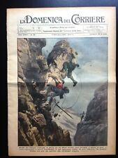 La Domenica del Corriere 4 settembre 1932 Dolomiti Varese Garibaldi