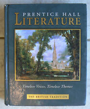 Prentice Hall BRITISH LITERATURE text only 2002 gr.10 11 12 high school