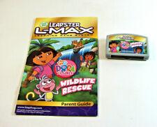 Leapster Dora the Explorer Wildlife Rescue Video Game Cartridge