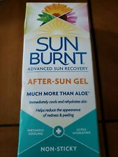 Sun Burnt Advanced Sun Recovery After-Sun Gel. Instant Cooling.