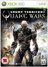 Xbox 360-Enemy Territory Quake Wars ** Nuevo Y Sellado ** existencias oficiales del Reino Unido