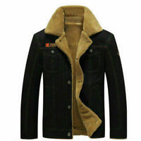 Men's Military Winter Thicken Coat Jacket Casual Overcoat Long Outwear