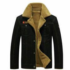 Men's Military Winter Thicken Coat Jacket Casual Overcoat Long Outwear