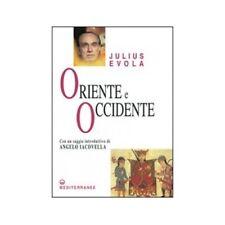 LIBRO ORIENTE E OCCIDENTE - JULIUS EVOLA