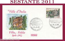 ITALIA FDC ROMA 1983 VILLA FIDELIA ANNULLO MATERA H377