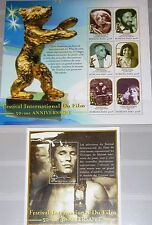 Burkina Faso 2000 KLB 1802-07 Block 206 50th Ann Berlin Film Movie Festival MNH