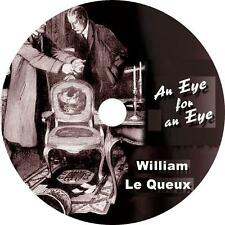 An Eye for an Eye, William Le Queux Classic Murder Mystery Audiobook on 1 MP3 CD