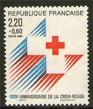 TIMBRE N° 2555 NEUF XX LUXE - EMBLEME DE LA CROIX-ROUGE