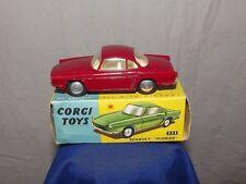 Boxed CORGI TOYS 222 RENAULT FLORIDE 1959-65